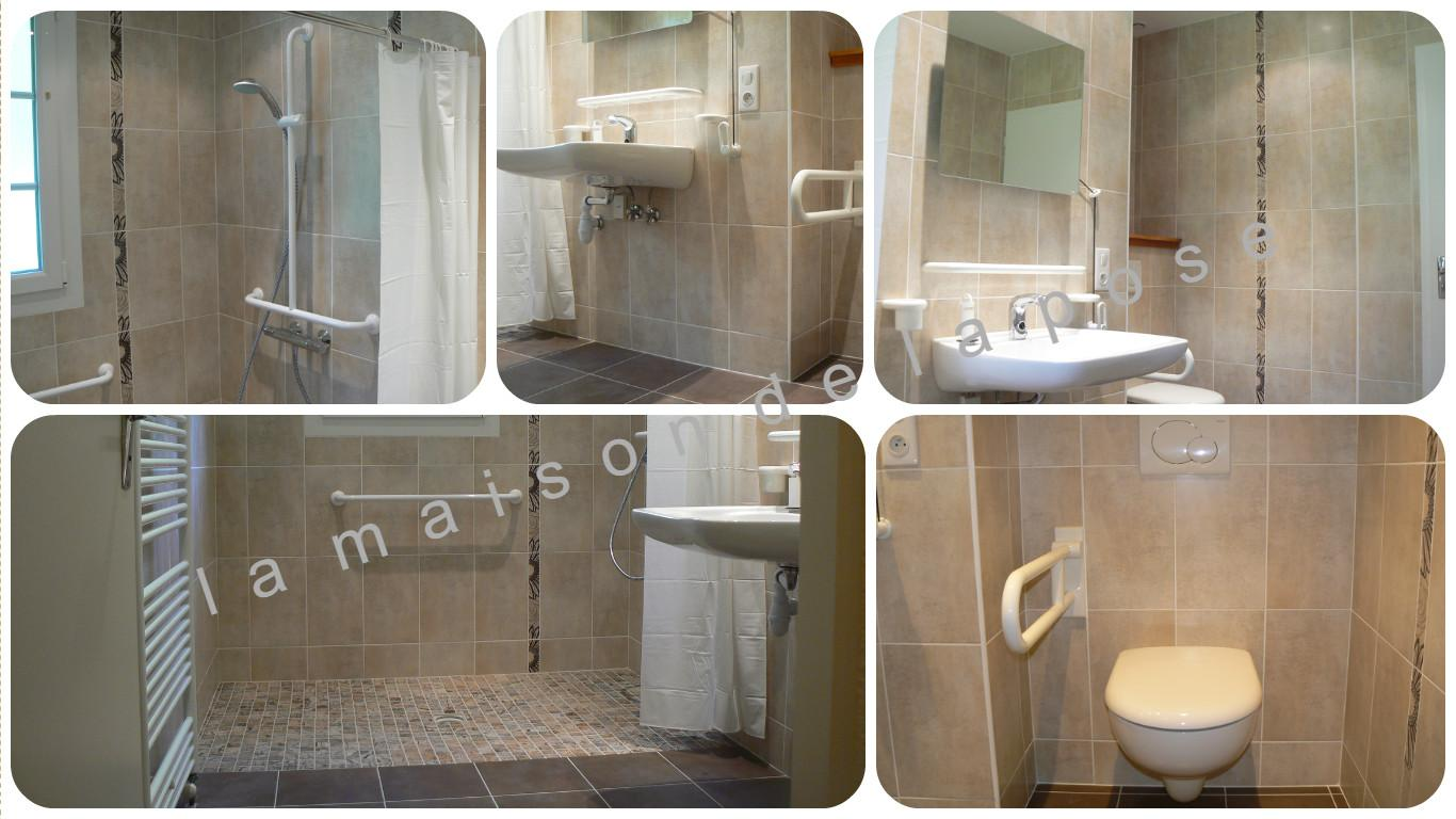La maison de la pose douvre christian jura salle de for Rideau pour douche italienne